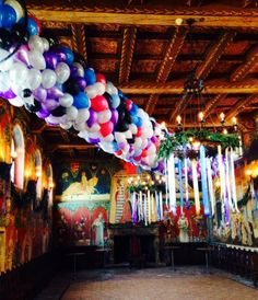 Photo Blog of Castello di Amorosa featuring our 2013 New Year's Eve Wine Club party! - from Tiazza Rose of Freebellydanceclasses.com