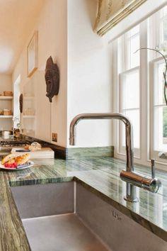 #kitchen - Town House London - Notting Hill  Interior Designer: Charlotte Lundqvist