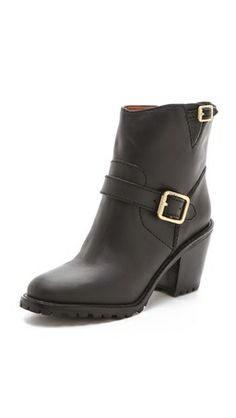 Givted- chunky #heels #boots