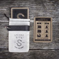 The Original Snake Bite Beer Bottle Opener Packaging with Instruction Card http://snakebiteco.com/ 100% Made in the USA #ShopifyPicks