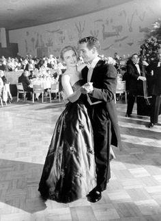 Paul Newman and Joanne Woodward, 1958
