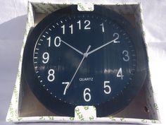 Black Wall Clock Top Quality Quartz Elpine Home, Office, School or Office use Black Walls, Quartz, Clock, Amazon, School, Kitchen, Top, Home Decor, Watch