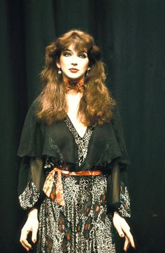 kate bush  --    Kate bush is totally my fashion goddess.