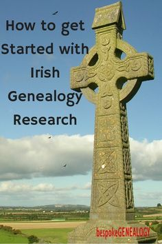 How to get Started with Irish Genealogy Research | Family History | Bespoke Genealogy | #genealogy