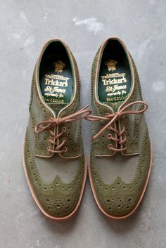 Trickers x Frans Boone Two-Tone Derby Brogues
