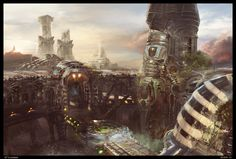 Unreal Tournament Concept Art by Sergey Musin | Sci-Fi | 2D | CGSociety