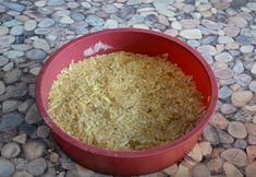 """Prăjitură cu mere """"3 pahare"""" - un desert simplu și delicios, fără lapte sau ouă! - Bucatarul Coconut Flakes, Grains, Spices, Baking, Spice, Bakken, Seeds, Backen, Sweets"""