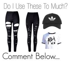 """""""Do I Use These Items to Much"""" by ryleedamnsartorius ❤ liked on Polyvore featuring WithChic and Topshop"""