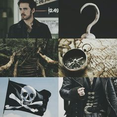 aesthetics — Captain Hook (once upon a time)
