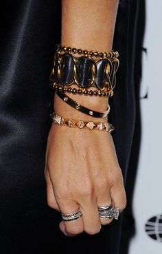 rings and bracelets, mix and match