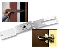 Door Security Latch Opener $29.95 Could Save Lives During Emergencies #Family #Home #ER #Emergency #Fire