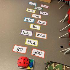 Phonics Games, Teaching Phonics, Preschool Literacy, Early Literacy, Kindergarten, Phase 1 Phonics, Pre K Sight Words, Numeracy Activities, Word Challenge