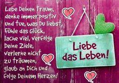 SPRÜCHE – Sammlungen – Google+ Happy Birthday, Neon Signs, Joy, Humor, Motivation, Words, Quotes, Life, Night
