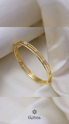 Gold Chain Design, Gold Ring Designs, Gold Bangles Design, Gold Earrings Designs, Gold Jewellery Design, Real Gold Jewelry, Gold Jewelry Simple, Gold Bangles For Women, Bracelets
