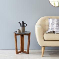 Bout de canapé en palissandre gris 40 Niels