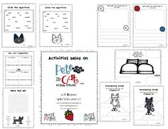 Pete the Cat Activity Packet Freebie