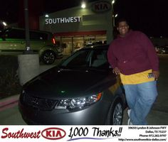 #HappyBirthday to Christopher Robinson from Stanley Bowie at Southwest Kia Dallas!