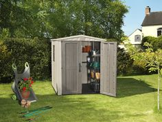 KETER Factor 6x6 Resin Outdoor Storage Shed * Details can be found by clicking on the image.-It is an affiliate link to Amazon.