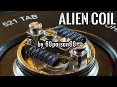 Alien Coil by 69poison69 ! (CoilMaking) | Vape.pl