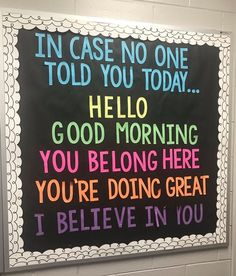 Jul 2019 - Who is starting to plan for back to school? I've been browsing for some new bulletin board ideas and found these gems, which are great for back to school or anytime in the year. Please note t… Back To School Bulletin Boards, Classroom Bulletin Boards, Counseling Bulletin Boards, Bulletin Board Ideas For Teachers, Classroom Ideas, Interactive Bulletin Boards, Health Bulletin Boards, Kindness Bulletin Board, Guidance Bulletin Boards