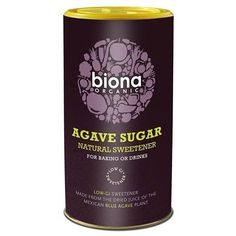 4 PACK  Biona  Organic Agave Sugar  250g  4 PACK BUNDLE >>> ** AMAZON BEST BUY ** #OrganicSupplements Organic Supplements, Agave Plant, Whiskey Bottle, Natural, Sprinkles, Cool Things To Buy, Juice, Sugar, Drinks