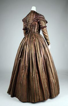 1842 Dress | probably French | The Metropolitan Museum of Art