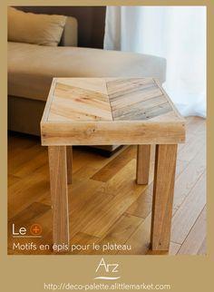 J Ai Pense Cette Table Basse Pour Prolonger Un Bout De Canape Pour