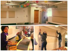 Acoustical Solutions spent #MLKDay2014 installing our donated acoustical wall panels at a local elementary school!