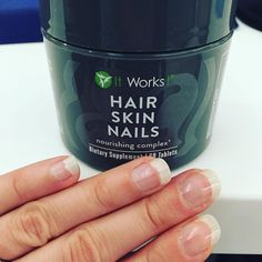Thank you Hair Skin Nails for these talons of mine!  My nails used to break off as soon as they got the slightest bit long but not anymore!  Want to start your journey to longer and stronger nails?! DM me! #longhair #iwantlonghair #longhairdontcare #growhairgrow #growhair #beard #beards #beardsofinstagram #beardgang #longerhair #strongnails #hair #haircut #hairstylist #hairdresser #hairstylist #haircare #beardgrowth #beardgrowing #balding #bald #baldspot #nails #nail #nails2inspire #nailswag…
