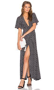 Privacy Please Plaza Kimono Dress in Lamarque