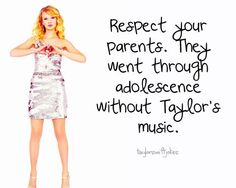 Taylor Jokes :) : Taylor Swift Taylor Swift Pictures, Taylor Alison Swift, Respect Your Parents, Swift Photo, Celebs, Celebrities, Just For Laughs, Getting Old, Jokes