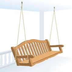 How To Build And Hang A Porch Swing