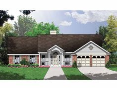 Eplans Country House Plan - Engaging Four-Bedroom Country - 1764 Square Feet and 4 Bedrooms from Eplans - House Plan Code HWEPL57750