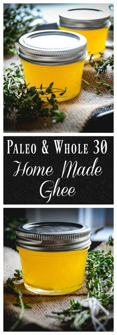 Ghee is one of the best foods for gut health. For those who are looking for a dairy free butter option, this is it. In only 10 minutes, you can quickly whip up your own. #whole30, #glutenfree, #paleo, #guthealth, #lactosefree, #gaps