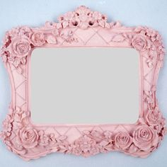 Espelho Decorativo com motivos Rococó 4x20x18cm