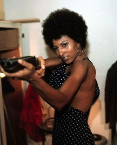"""Coffy (Pam Grier): """"It was easy for him because he really didn't believe it was comin', but it ain't gonna be easy for you, because you better believe it's comin'!"""" -- from Coffy (1973) directed by Jack Hill"""