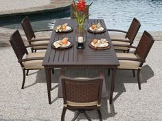 Veranda Classics Pacifica 7 Piece Dining Set