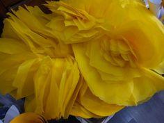 Flores de papel de seda. Por encargo. Artificial Flowers, Paper Flowers, Events