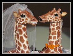 Giraffe Wedding Cake