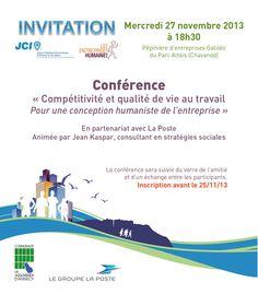Conférence, novembre 2013
