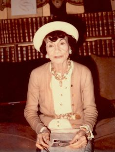 Circa 1970 - Coco Chanel by Marion Pike