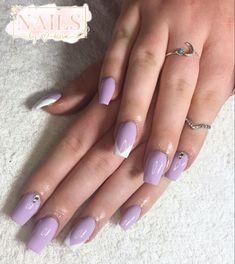 #nails #nailsofinstagram #nailart #acrylicnails #ombrenails #pinknail #nailideas #girlynails #nailinspiration Nailart, Lilac Nails, My Nails, Beauty