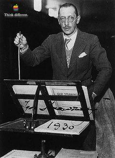 Igor Stravinsky 2 by Macaholic, via Flickr