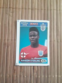 Raheem Sterling England Manchester City Liverpool sticker #415 World Cup 2018 #England