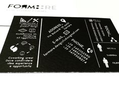 Business card Formore design