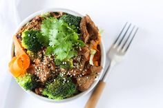 This Crockpot Beef and Broccoli recipe is awesome, as it's both healthy and flavorful due to a very special assortment of liquids.