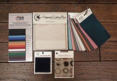 Fabric Swatches and Samples by Lennertson Sample Company Fabric Board, Fabric Dye, Fabric Display, Organize Fabric, Sewing Tools, Fabric Samples, Fabric Painting, Fabric Swatches, Couture