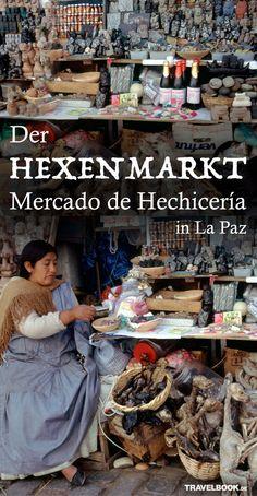 Sie wünschen sich einen super Po, Geldregen oder Haarausfall für die Nebenbuhlerin? Kein Problem, auf dem Hexenmarkt Mercado de Hechicería in La Paz findet man für jedes Problem eine Lösung – in Form von Pulver, Seife, Zuckerguss oder Lama-Föten.