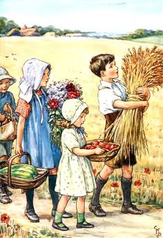 We Bring Our Gifts    Cicely Mary Barker (28 June 1895 – 16 February 1973)