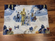Vintage 1977 Star Wars New Hope Pillowcase Standard Size Great Condition…